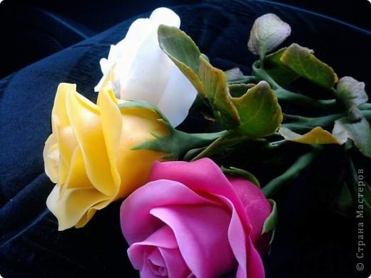И опять у меня розы. Ими конечно уже не удивить, но лепить их у меня была веская причина. фото 5