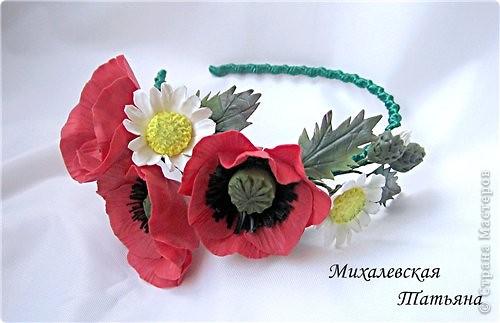 Ободок для доченьки из ХФ )))))))))) фото 2