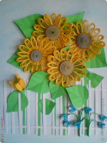 Эти подсолнушки уже готовились конкретно на подарок родственнику на день варенья. фото 5