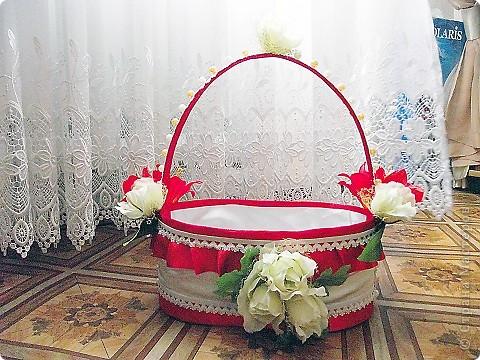 Сделала себе подарочек на свадьбу: вот такую вот корзинку. фото 1