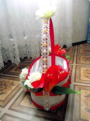 Сделала себе подарочек на свадьбу: вот такую вот корзинку. фото 2