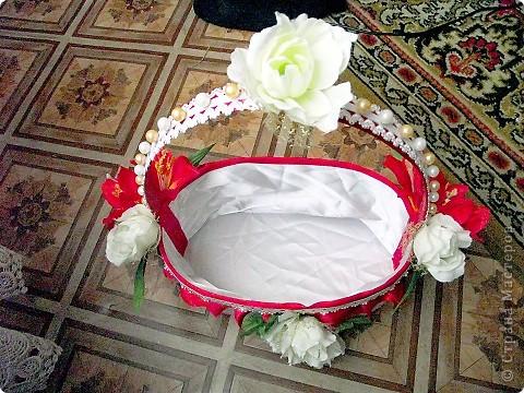 Сделала себе подарочек на свадьбу: вот такую вот корзинку. фото 3