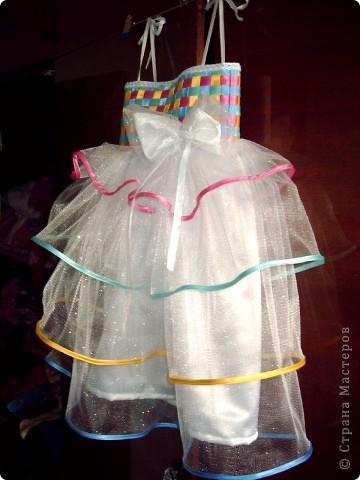 На день рождения дочери, которой исполнялось 5 лет, я захотела сшить платье! Весёлое, яркое, чтобы ей нравилось и она чувствовала себя принцессой. Просмотрев кучу сайтов, нашла фото платья, которое захотелось, но описания, как делать не было. Пришлось подключать все свои таланты и мудрить самой. Кстати, о шитье имею представление на уровне первоклашки... фото 26