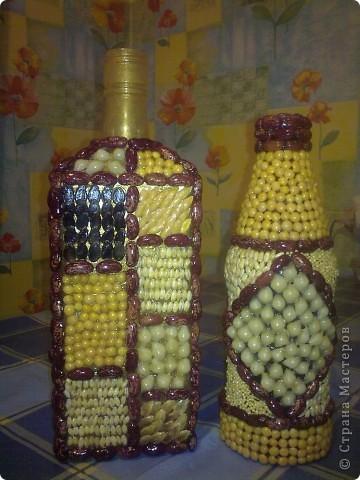обычные бутылочки расписаны акриловой краской фото 18