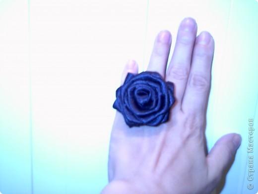 """пръстен """"Черна роза"""" фото 1"""