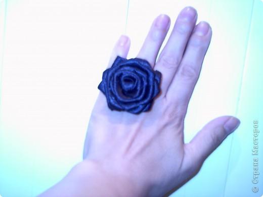 """пръстен """"Черна роза"""" фото 2"""