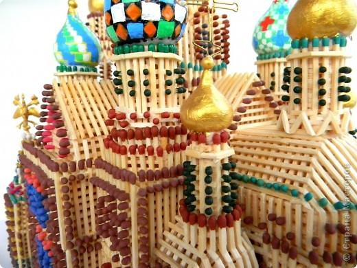 Собор из спичек (Спас На Крови, Санкт-Петербург) Моделирование.