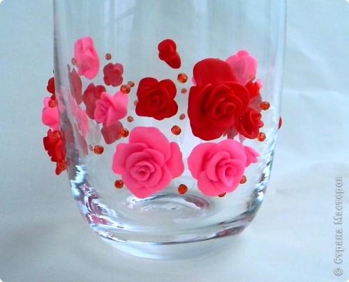 Ваза в подарок на рубиновую свадьбу фото 2