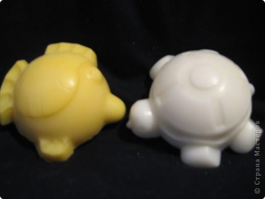 клубничка - запах естественно соответствующий, формочка - детская для песка фото 6