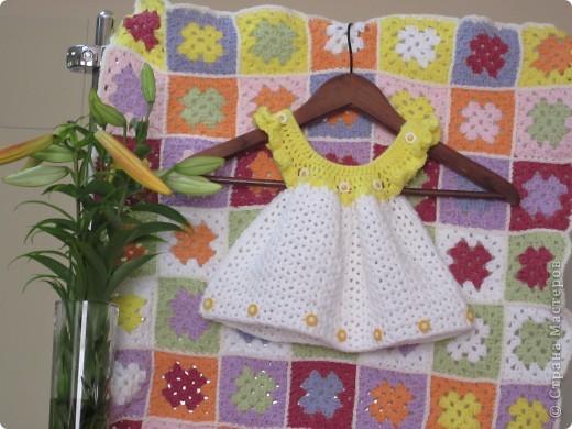 Платье и плед для малышки фото 2