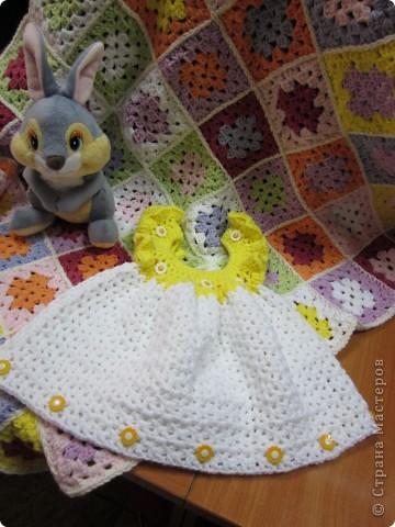 Платье и плед для малышки фото 4