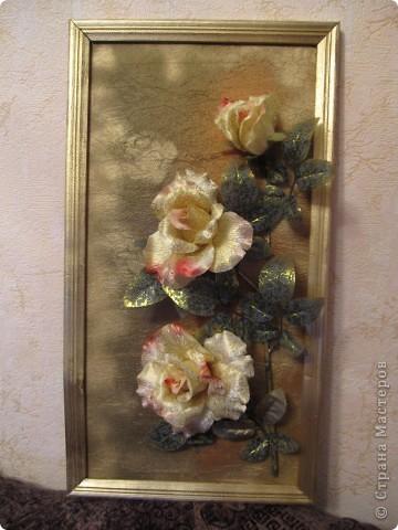 Розы-панно