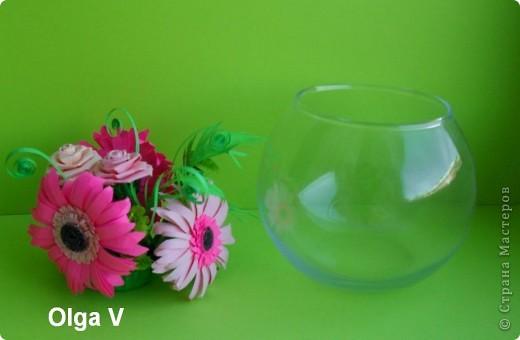 Такой сувенир в стеклянной вазочке можно сделать в подарок ко дню рождения или к празднику.  фото 6