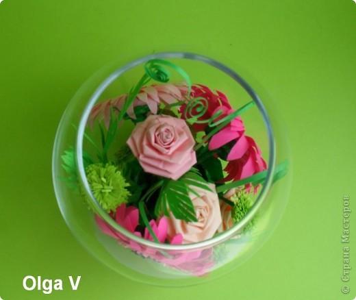 Такой сувенир в стеклянной вазочке можно сделать в подарок ко дню рождения или к празднику.  фото 7