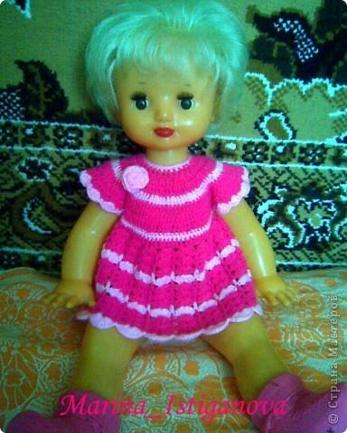 Платье, связанное крючком фото 2