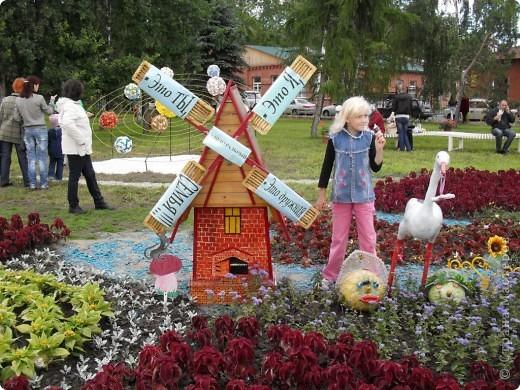 """Продолжаем экскурсию по выставочным скверам юбилейной выставки """"Флора"""" в городе Омске. фото 3"""