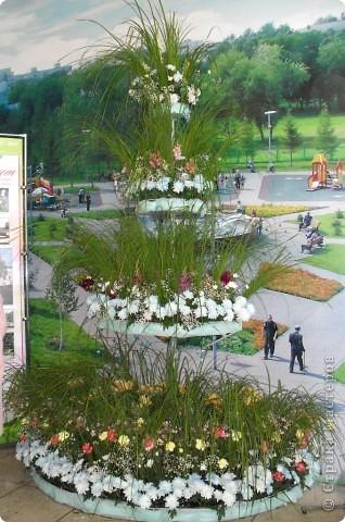 """Продолжаем экскурсию по выставочным скверам юбилейной выставки """"Флора"""" в городе Омске. фото 35"""