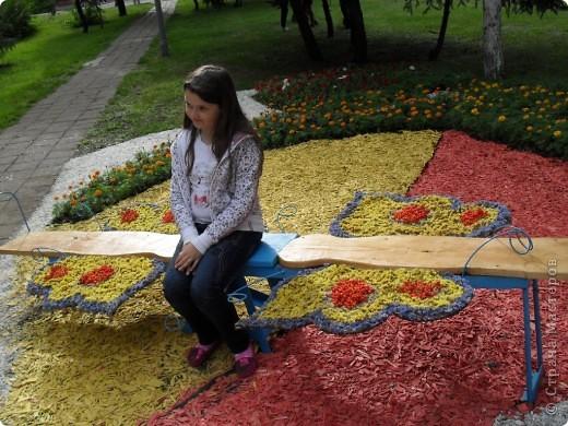"""Продолжаем экскурсию по выставочным скверам юбилейной выставки """"Флора"""" в городе Омске. фото 36"""
