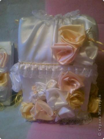Свадебный набор-ЗОЛОТАЯ РОЗА фото 2