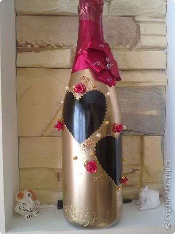 свадебная бутылка фото 1