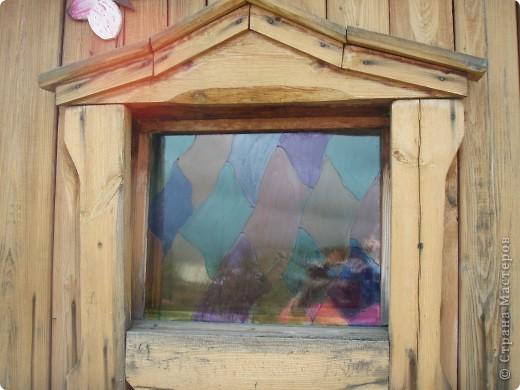 Ванька-огородничий встречает нас на даче. Ванька  от того, что дача в с. Иван-Озеро. Идея  - с сайта, правда в оригинале он без ног и стоит на траве.   фото 10