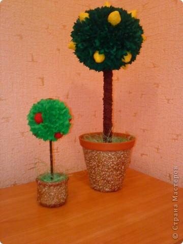 А вот и мои повторюшки деревца фото 2