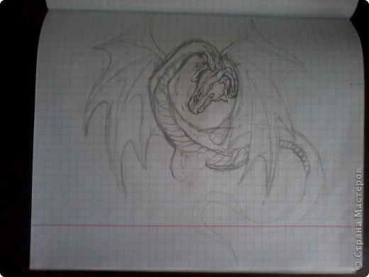Дракоша (на наждачке) фото 2