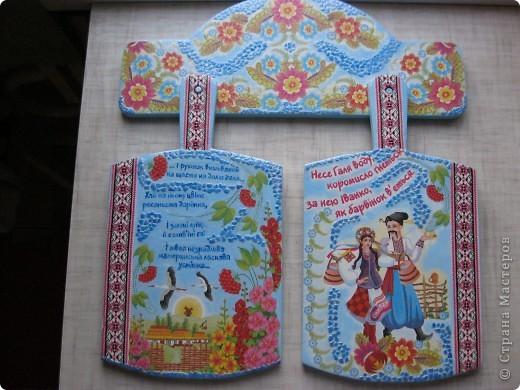Еще одну работу хочу вам показать, еще горячая, с пылу, с жару. Этот наборчик делала на День рождения моей любимой мамочки. Она до сих пор работает (никак не можем ее уговорить сходить на пенсию) и 50 (!!!!!!!!!!!) лет преподает украинский язык и литературу. Поэтому и наборчик в тему + очень душевные слова на салфеточках.  фото 8