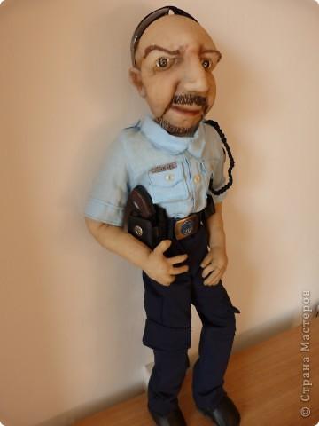 Израильский полицейский. Текстильная кукла