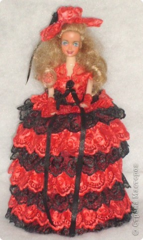 Кукла -шкатулка сделанная по МК  http://stranamasterov.ru/node/128514?c=favorite.  фото 1