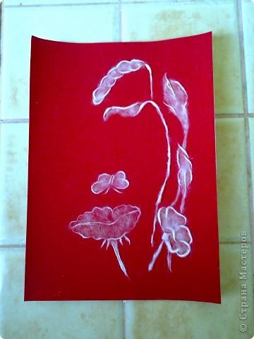 Картина тополиным пухом... фото 2