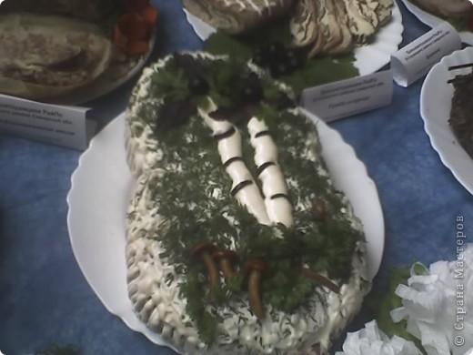 Варианты украшения салатов фото 3