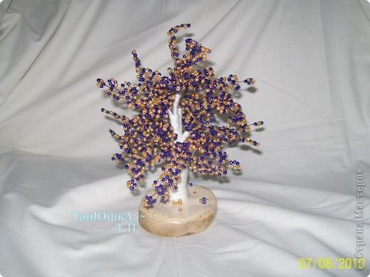 Поделка изделие Бисероплетение Деревья и Цветы Бисер фото 4.