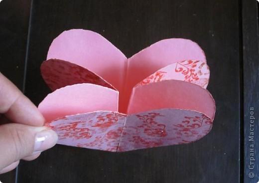 Всем доброго времени суток! Хочу поделиться с вами как сделать сувенирный пакетик в форме сердца. Думаю вашим близким будет приятно получить сувенир в такой упаковке.  фото 20