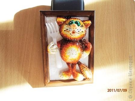 Эти котики лепились специально для столовой Базы отдыха (повторюшки) фото 3