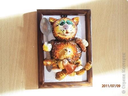 Эти котики лепились специально для столовой Базы отдыха (повторюшки) фото 2
