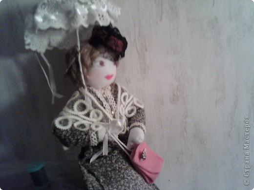 19век-Дама под зонтиком фото 1