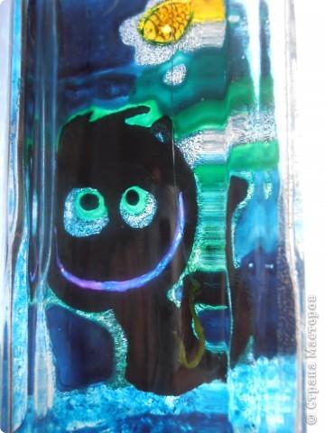 ........бутылочка создавалась как приложение к подарку для  заядлого рыбака....... фото 3