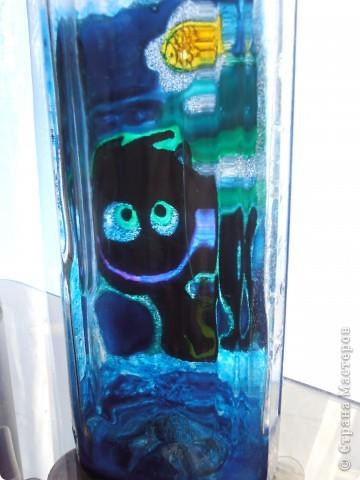 ........бутылочка создавалась как приложение к подарку для  заядлого рыбака....... фото 5