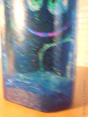 ........бутылочка создавалась как приложение к подарку для  заядлого рыбака....... фото 9