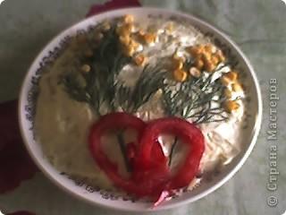 Варианты украшения салатов фото 1