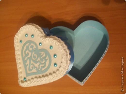 коробочка сердечко фото 2