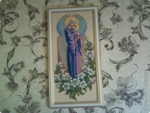 Богородица с младенцем. фото 1