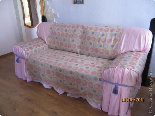 накидка на диван фото 1