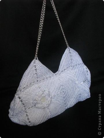 Благодаря Zeny http://stranamasterov.ru/node/165080 связалась у меня такая вот замечательная сумочка!!! Женечка, спасибо тебе за МК и вдохновение!!! фото 2