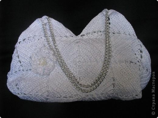 Благодаря Zeny http://stranamasterov.ru/node/165080 связалась у меня такая вот замечательная сумочка!!! Женечка, спасибо тебе за МК и вдохновение!!! фото 3