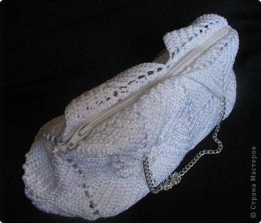 Благодаря Zeny http://stranamasterov.ru/node/165080 связалась у меня такая вот замечательная сумочка!!! Женечка, спасибо тебе за МК и вдохновение!!! фото 5