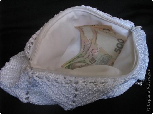 Благодаря Zeny http://stranamasterov.ru/node/165080 связалась у меня такая вот замечательная сумочка!!! Женечка, спасибо тебе за МК и вдохновение!!! фото 6