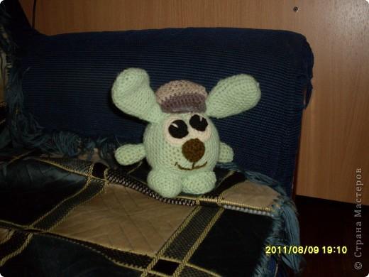 Ну, вот и готов мой первый кролик фото 2