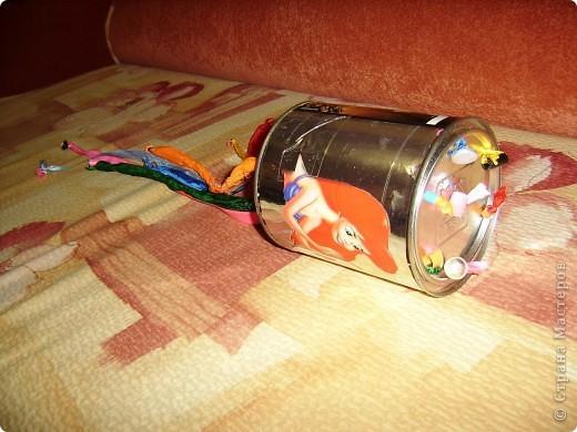 Баночка-дергунчик фото 1